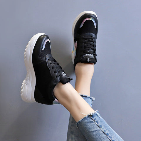 Casual Height Increasing Platform Shoes