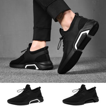 Casual Breathable Walking Mesh Flat Board Shoes Sneakers