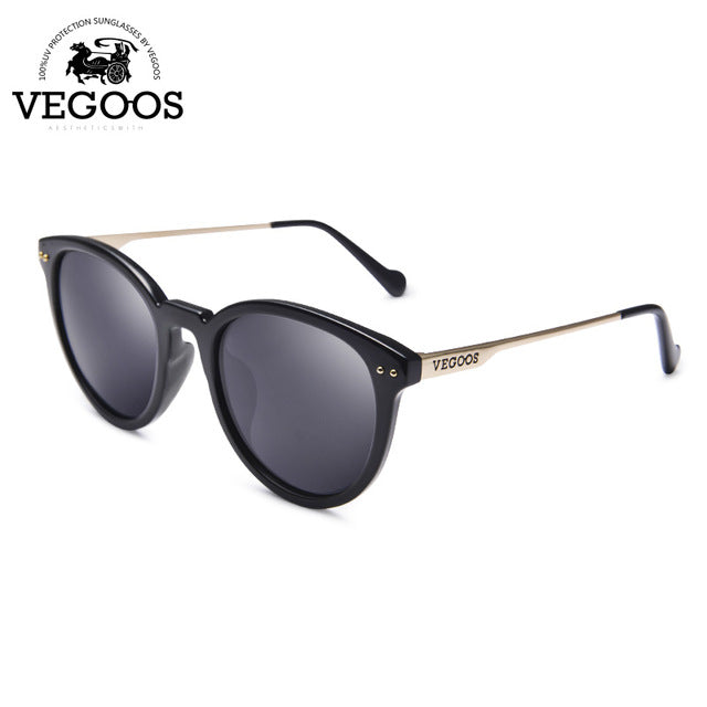 Polarized Vintage Round UV Protection Designer Luxury Sunglasses