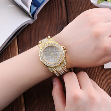 Crystal Full Steel Wrist watch