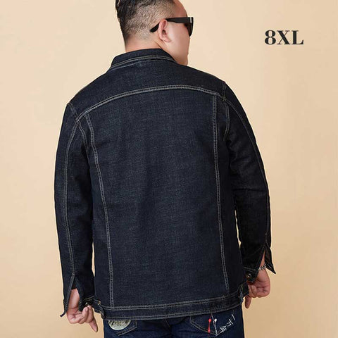 Velvet Thicken Loose Vintage Denim Jackets