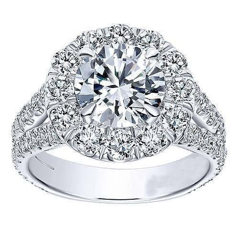 Sliver Real Diamond Ring