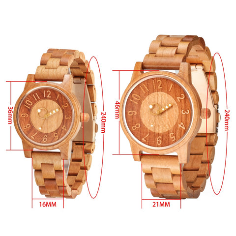 Casual Luxury Wood Watches