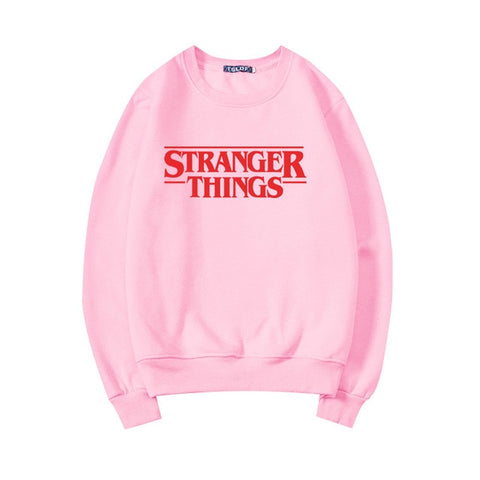 Trendy Faces Stranger Things Sweatshirts