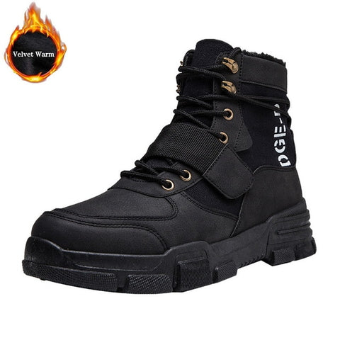 Military Tactical Leather Special Force Desert Ankle Combat Boots