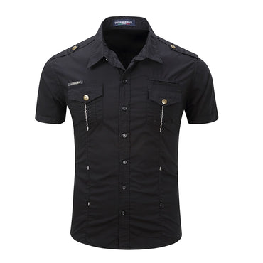 Military Wind Uniform Outdoor Casual Short Sleeve Shirts