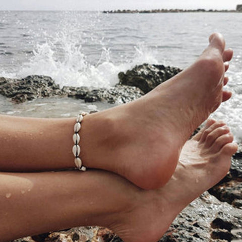 Bracelet ankle on the leg Boho Bohemian Accessories