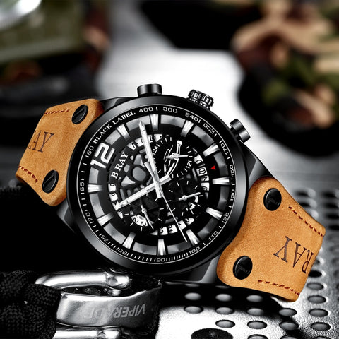 Military Army Chronograph Watch