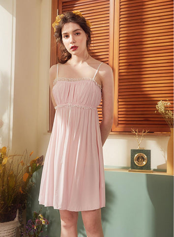 High Quality Cotton Sleeveless Sleepwear