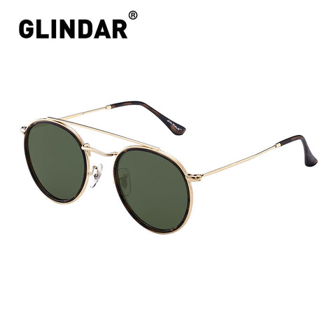 Retro Small Polarized Round Sunglasses