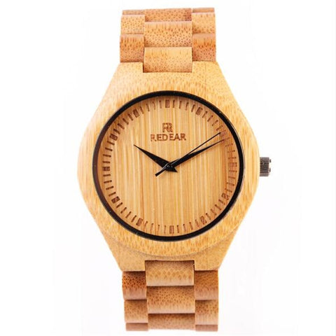 All Bamboo Creative Imported Quartz Core wood watches