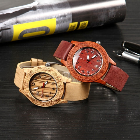 Creative Fashion Full Wood Watch