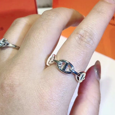 Sterling Silver Steam Punk Lock Rings