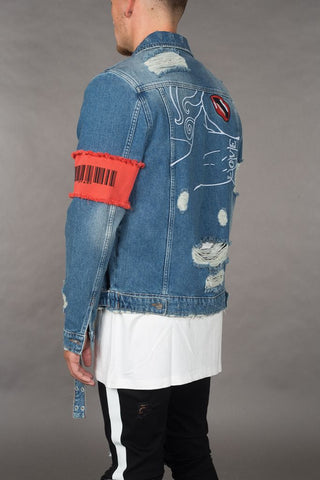 Casual Brand Ripped Denim Jackets