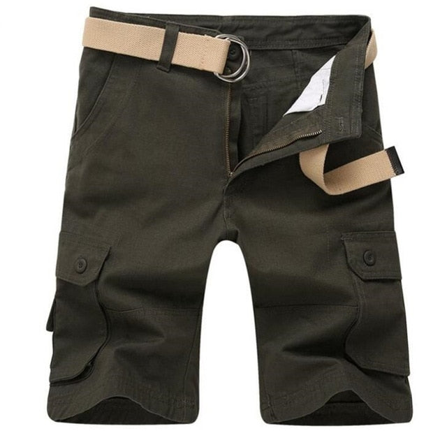 Casual Multi Pocket Military Cargo Short