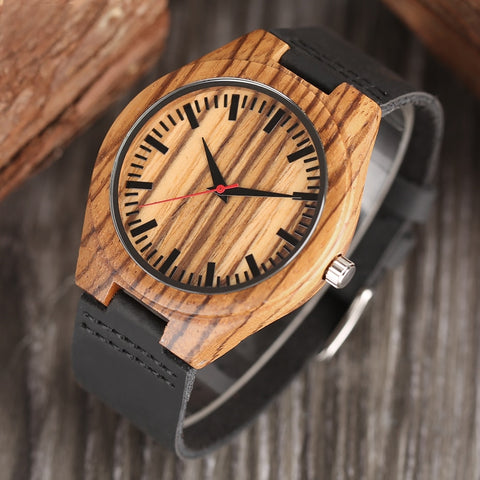 Natural Simple Stripe Watches
