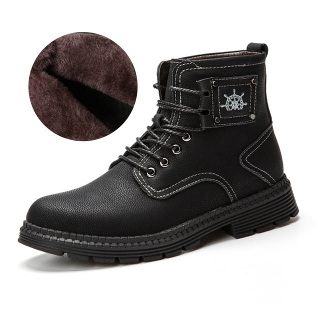 Genuine Leather Martins Boots