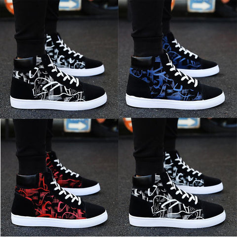 Vogue Student Board High top Casual Sneakers Shoes