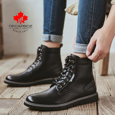 Lace-up Casual Boots