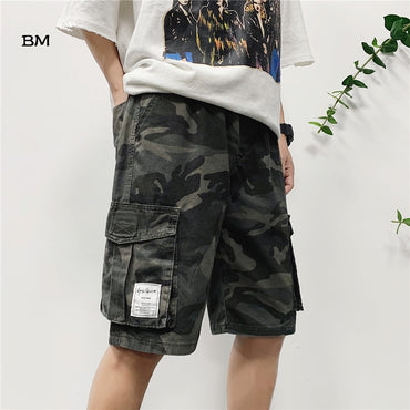 camouflage military shorts