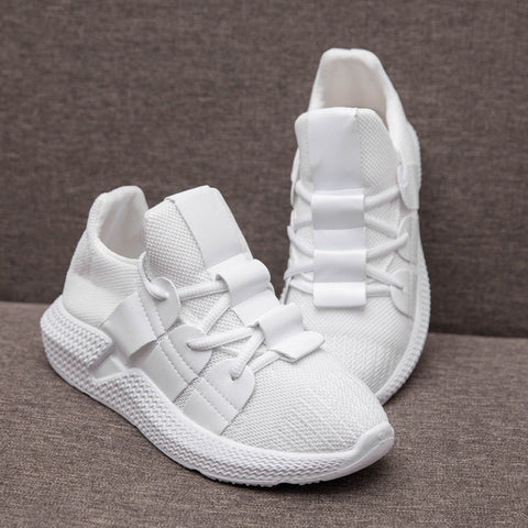 Platform Casual White Shoes Sneakers