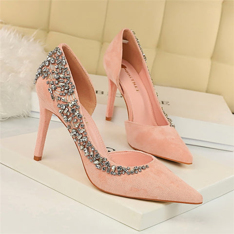 Luxury Bling Rhinestone High Heels