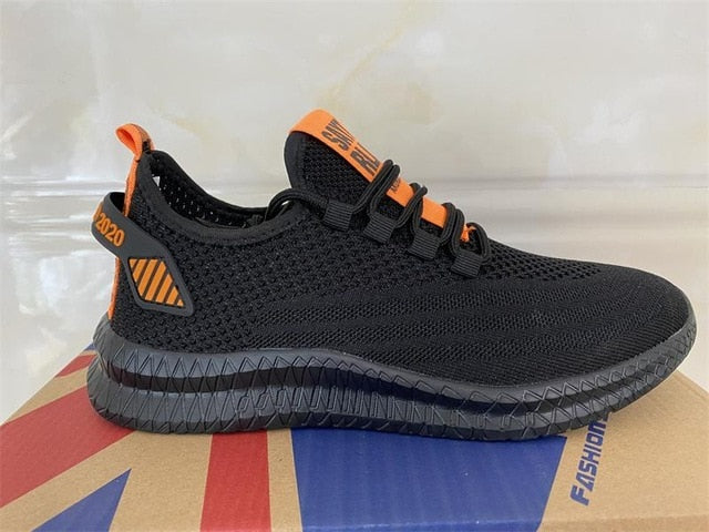 Mesh Casual Lace-up  Lightweight Comfortable Breathable Walking shoes
