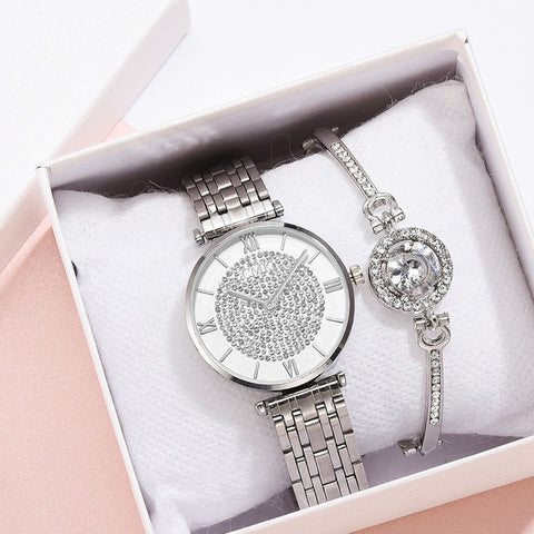 Luxury Alloy Diamond Watches