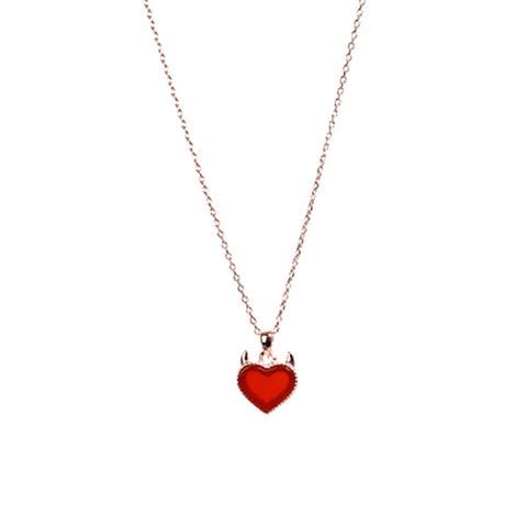 sterling silver Scale Light love Necklace