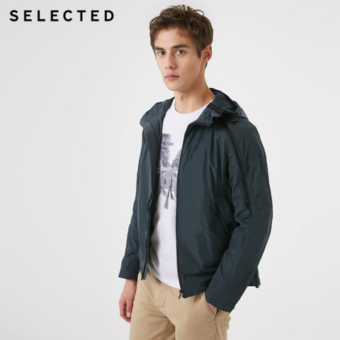 Hooded Zip through Trench Jacket