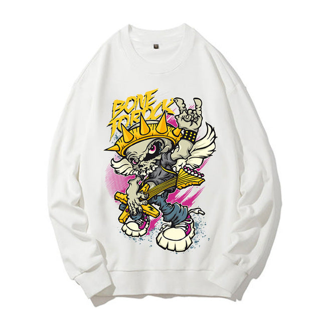 Bone to rock sweatshirts