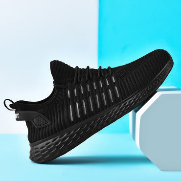 Soft Mesh Casual Lace-up Lightweight Comfortable Breathable Walking Sneakers