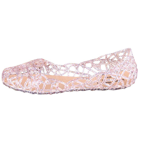 Casual Jelly Hollow Out Mesh Flat shoes