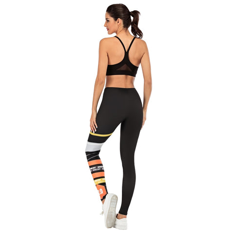 Printing Slim sexy High Waist Leggings