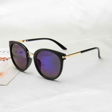 Driving Mirrors vintage Reflective flat lens Sunglasses