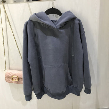 Black Casual Hollow Out Long Sleeve Pocket Hoodies