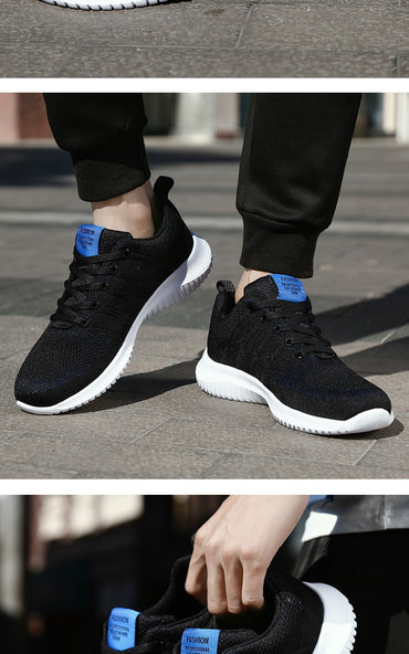 Breathable Stripe Casual Shoes