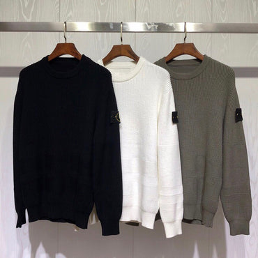Embroidery Men Casual Sweaters