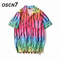 Casual Printed Short Sleeve Shirt