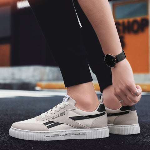 Breathable Casual Mesh Lace-up Wear-resisting Comfortable Sneakers Shoes