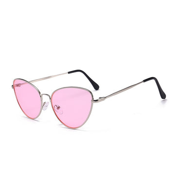 Sexy Small Vintage Cat Eye Sunglasses
