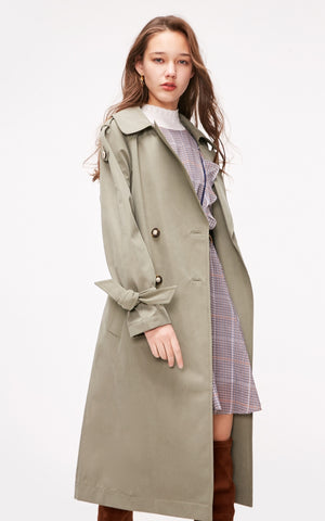 Long Thin Trench Coat