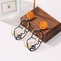 abstract exaggerated creative earrings