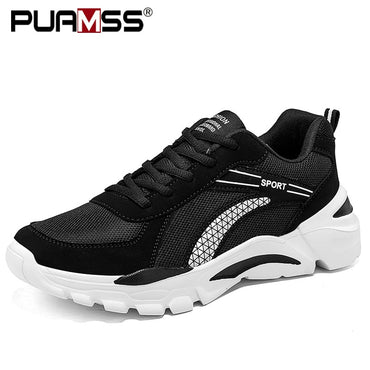 Lace-up Casual Lightweight Breathable Walking Sneakers