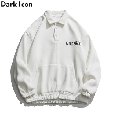 Turn-down Collar High Street Sweatshirts
