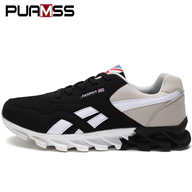 Breathable Casual Walking Lightweight Lace-up Sneakers & Shoes