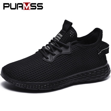 Light Mesh Big Size Loafers Breathable Slip On Heighten Shoes