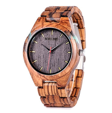 Special Design Handmade Wood Watches