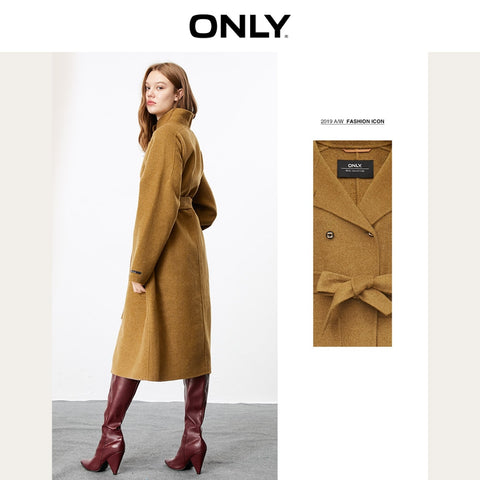 Double-faced Woolen Coat