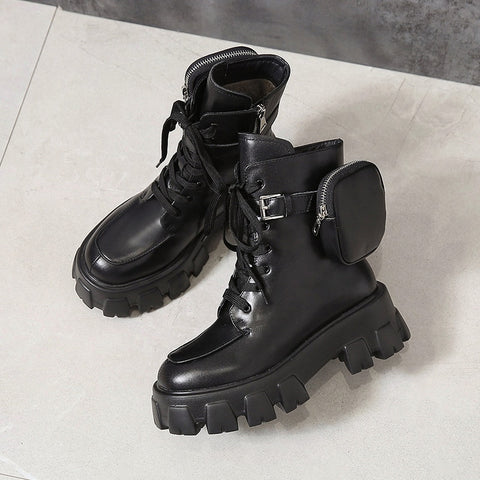 Pocket Motorcycle Boots